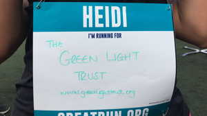A big thank you to Heidi for her fundraising Great East Run